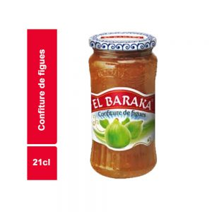 CONFITURE FIGUE EL BARAKA BOCAL 21 CL