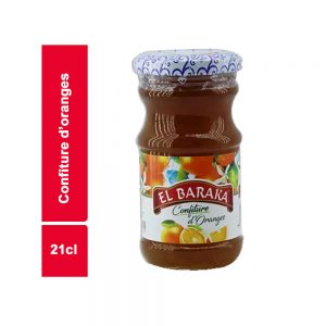 CONFITURE ORANGE EL BARAKA BOCAL 21 CL