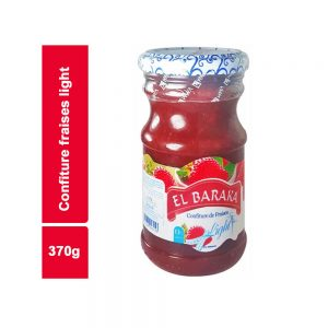 CONFITURE FRAISE EL BARAKA LIGHT BOCAL 37 CL