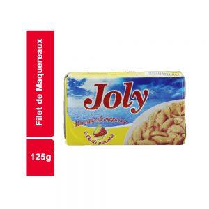 FILET MAQUEREAUX HV JOLY BOITE 125 GR