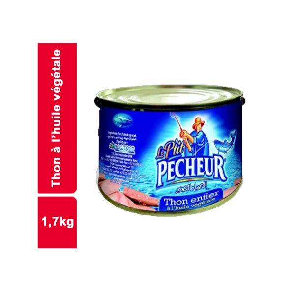 THON ENTIER LE PETIT P?CHEUR  BOITE 1,7 KG