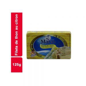 FILET THON CITRON MARIO BOITE 125 GR