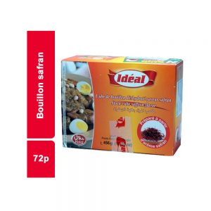 BOUILLON SAFRAN IDEAL PAQUET 72 CUBES