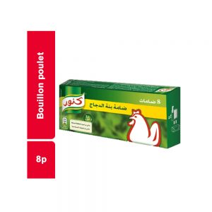 BOUILLON POULET KNORR PAQUET 8 PIECES