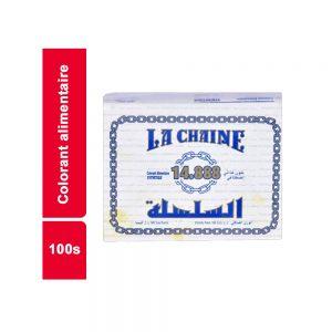 COLORANT ALIM.14888 LA CHAINE PAQUET 100 SACHETS