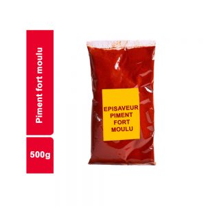 PIMENT FORT MOULU EPISAVEUR SACHET 500 GR