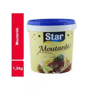 MOUTARDE STAR SEAU 1,2 KG