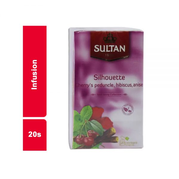 INFUSIONS SILHOUETTE SULTAN PAQUET 20 SACHETS