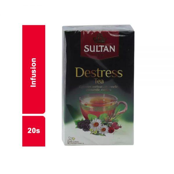 INFUSION DESTRESS TEA SULTAN PAQUET 20 SACHETS