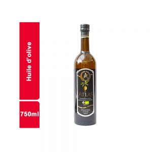 HUILE D'OLIVE EXTRA ATLAS BOUTEILLE 750 ML