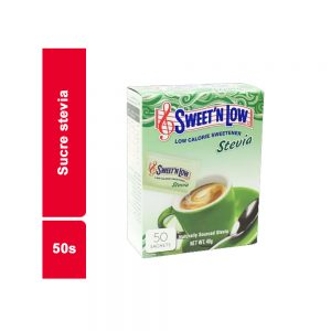 SUCRE STEVIA IN THE RAW  PAQUET 50 SACHETS