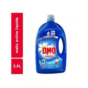 MATIC ACTIVE LIQUIDE OMO BIDON 2,5 L