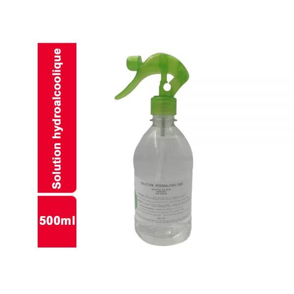 SOLUTION HYDROALCOOLIQUE FLACON 500 ML
