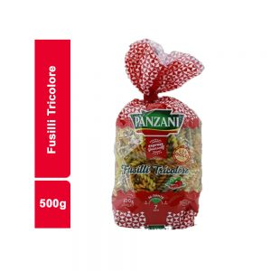 FUSILLI TRICOLORE PANZANI SACHET 500 GR