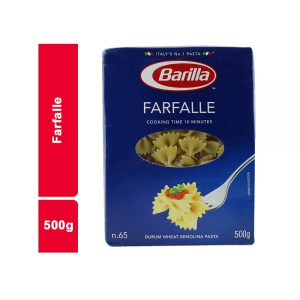 P?TES FARFALLE BARILLA SACHET 500 G