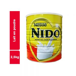 LAIT EN POUDRE NIDO BOITE 2,5 KG