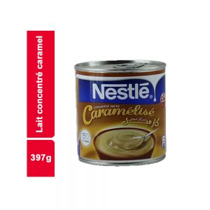 LAIT CONCENTRE CARAMEL NESTLE FLACON 397 GR