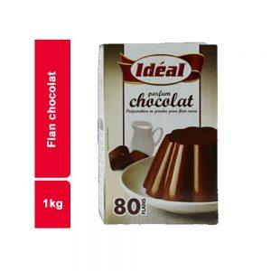 FLAN CHOCOLAT IDEAL PAQUET 1 KG