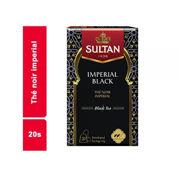INFUSION THE NOIR IMPERIAL BLACK SULTAN PAQUET 20 SACHETS