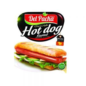 SAUCISSES HOT DOG  DELPACHA PIECE 250 GR