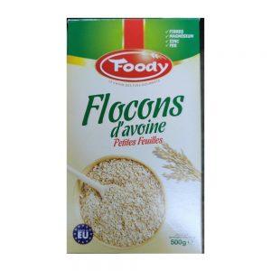 FLOCONS D'AVOINE  FOODY  PAQUET  500 GR