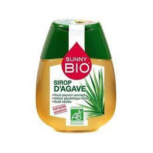SIROP D'AGAVE BIO SUNNY BOUTEILLE  250 GR