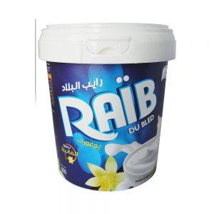 RAIB DU BLED VANILLE FROMITAL POT  900 GR